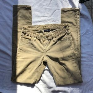 Levi Tan Corduroy Los Skinny Jeans